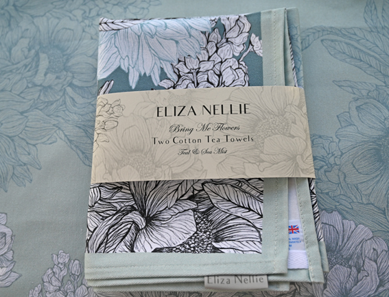 Cotton tea towels made in the UK l Bring Me Flowers
