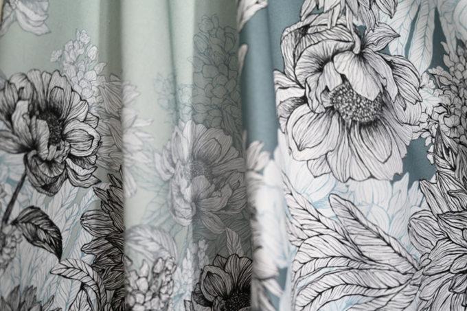 Bring Me Flowers cotton tea towel pair l UK made